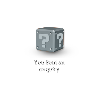 You Send an enquiry
